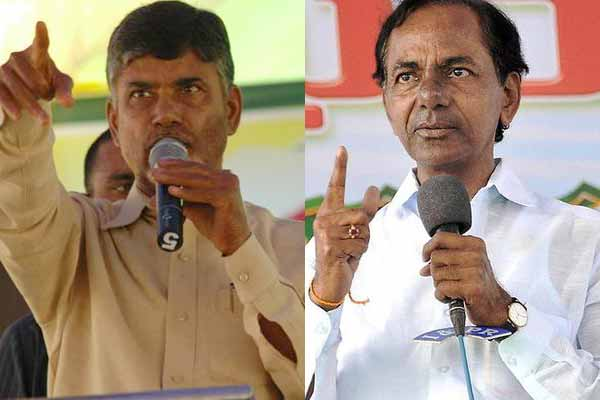 KCR warns Chandrababu Naidu