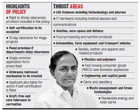 Make in Telangana: New Industrial Policy Announced