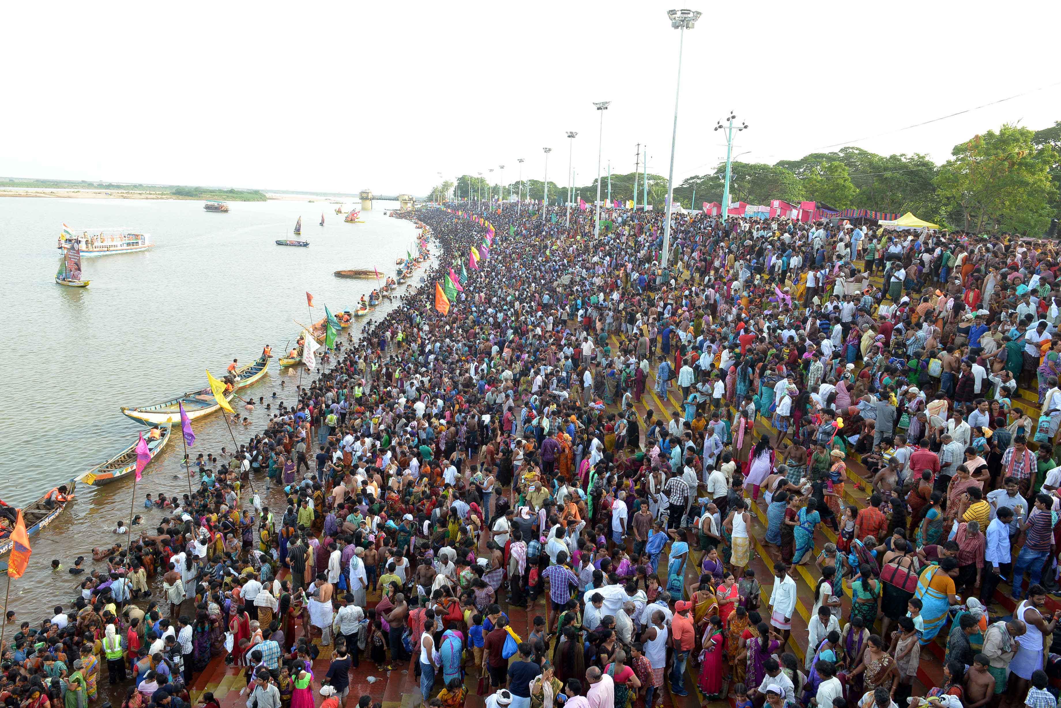 Day 5 : Godavari Pushkaralu photos