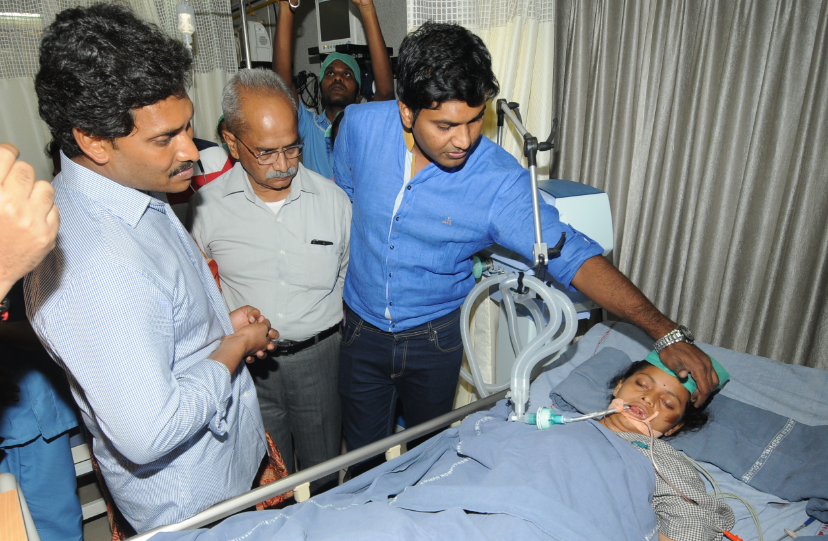 CM Should Quit on Moral Grounds: Jagan
