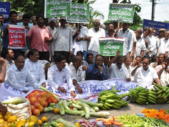 Political storm clouds hover over Vijayawada