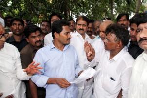 Jagan's visit to KothaMajeru Village