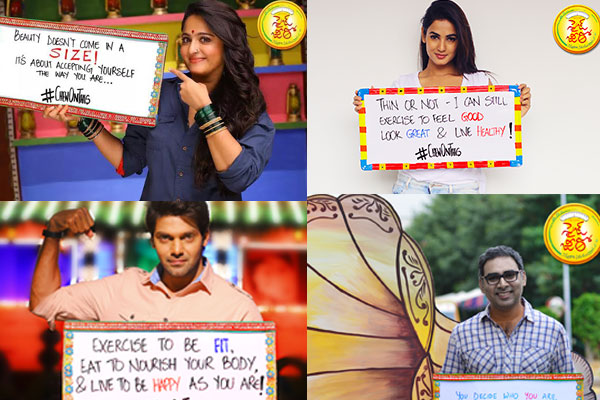 'Placard' promotions for Size Zero