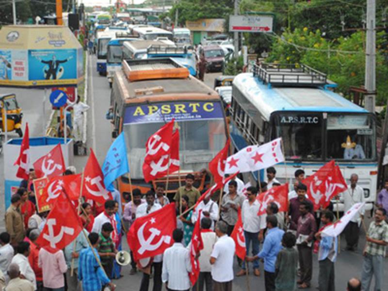 Andhra bandh peaceful