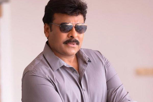 Grand arrangements for Chiranjeevi's shoot