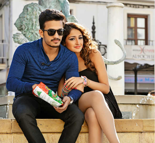 Aggressive promotion for Akhil