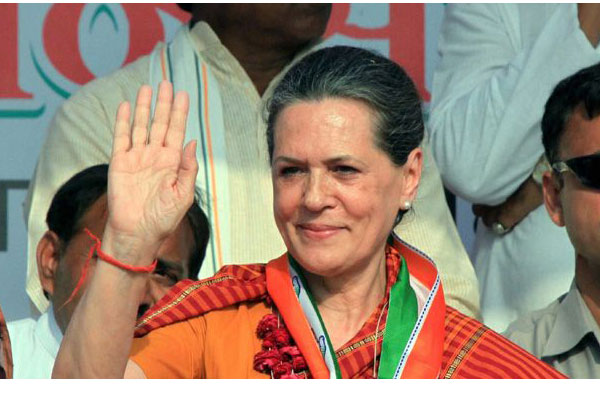 Sonia's term as AICC president extended