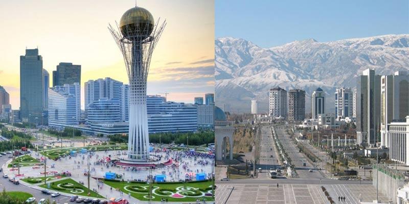 Astana-Ashgabat-cites