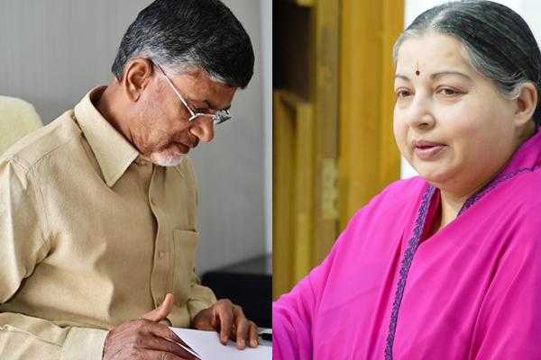 Naidu writes to Jayalalithaa on Telugu medium