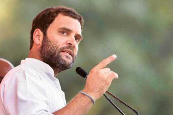 Rahul Gandhi steps in for special category status for AP