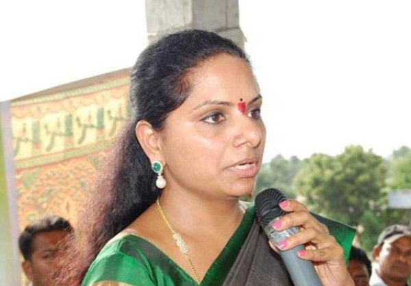 MP Kavitha backs KCR! Extends support to AP Special Category Status