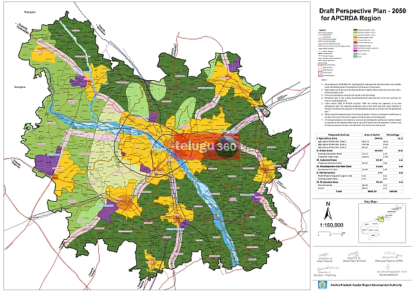 Capital region master plan released by ap government capital region master plan malvernweather Choice Image