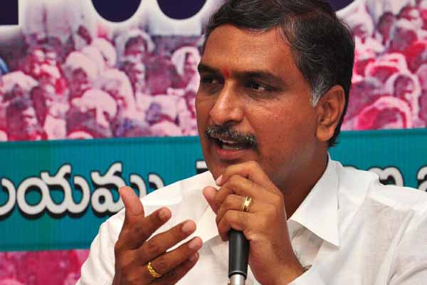 TRS Minister Harish Rao's sweet warning to GMR Group!