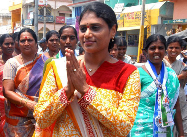 Why only Sakshi carried Sharmila's counter?