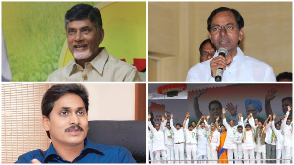 CBN Jagan KCR and T Congress