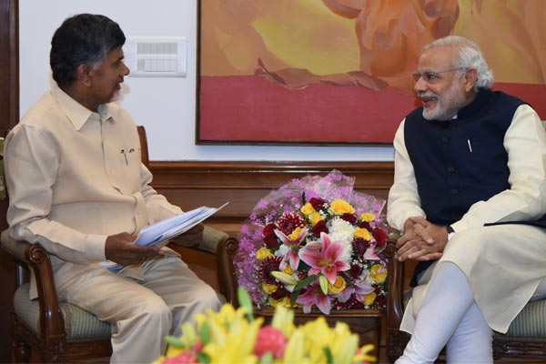 All eyes are on Naidu's meeting with PM tomorrow