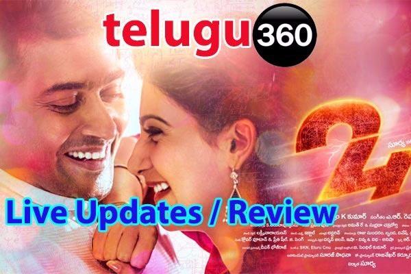 24 Movie Review Telugu Tamil