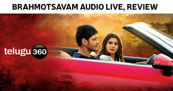 Brahmotsavam Audio Review Songs