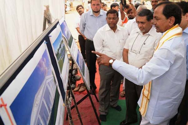 KCR appoints high-level committee for construction CM' new camp office