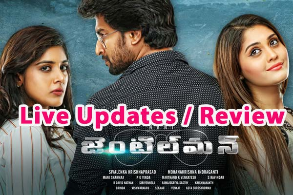 Nani's Gentleman Movie Review : Romantic Thriller