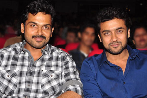 Suriya and Karthi teaming up for a remake
