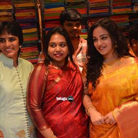 Nithya Menen at Kalamandir 25th Store Launch