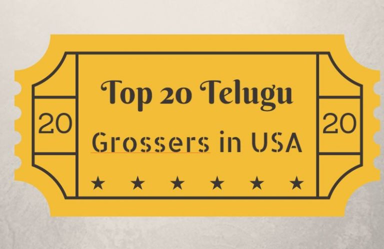 All Time Top 20 Grossing Telugu Movies in USA