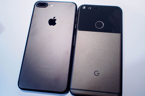 Google Pixel XL: Real, direct competition to the Apple ...