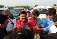 Gali Janardhan Reddy in Bellary