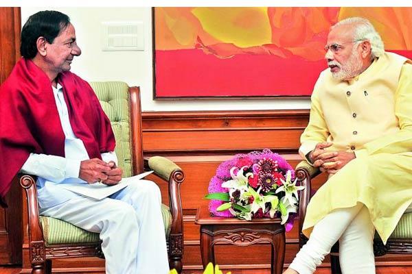 KCR Narendra Modi