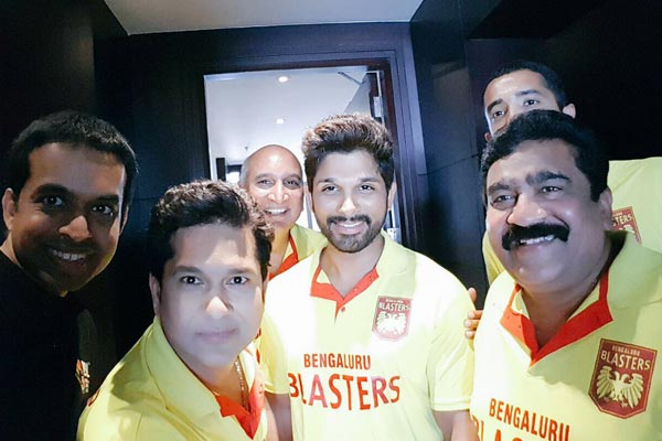 Stylish Star surprise with 'special'selfie
