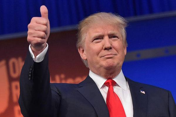 Donald Trump Times person 2016