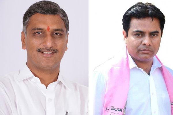 Harish, KTR - Brother-in-Laws comradeship in Telangana assembly