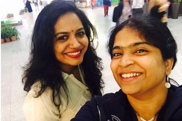 Sunitha is a good friend of mine - Usha
