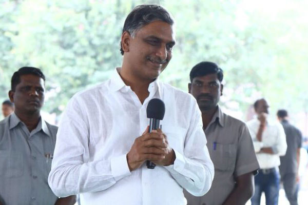 WhatsApp Minister Harish Rao, ready to serve any time!