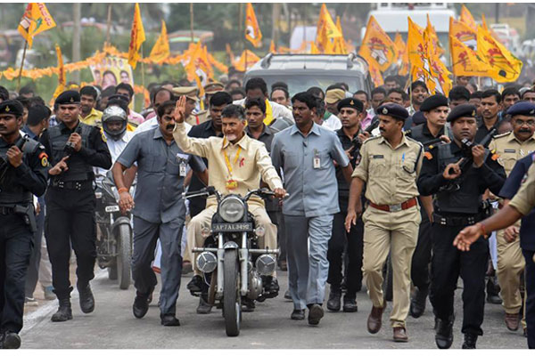 Security threat to Chandrababu