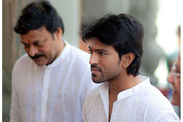 Charan yet to watch Khaidi No 150: His Spl Plans