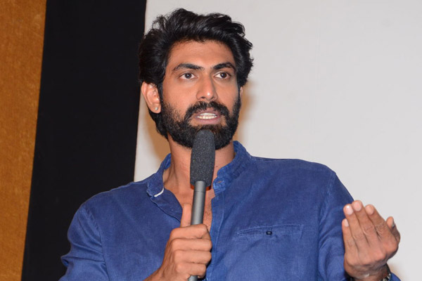 Cinema has power to recreate any scenario: Rana Daggubati ghazi Interview