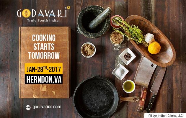 Godavari all set to flow into Herndon, VA