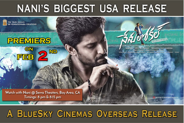 Watch Nenu Local with Nani in USA