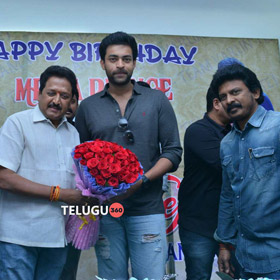 Varun Tej Birthday Celebrations 2017, Mega Prince Varun Tej Birthday Celebrations Stills