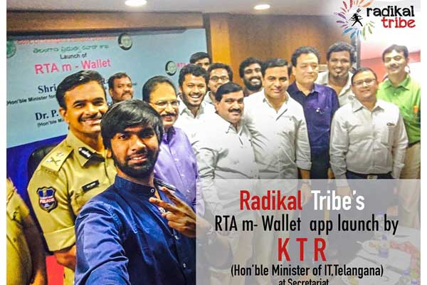 Hyderabad Startup Interview Series e-challan services into RTA m-wallet: Radikal Tribe