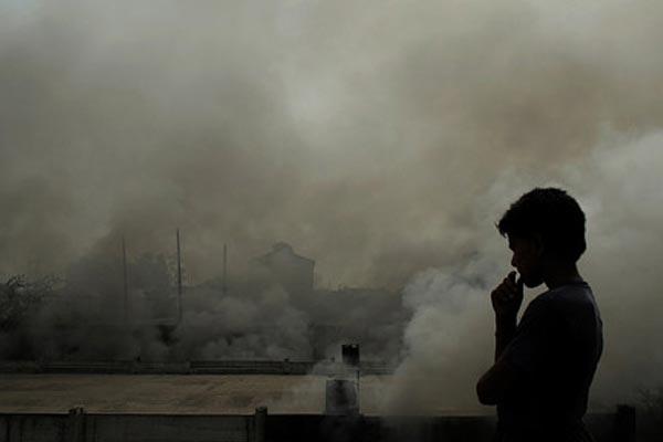 India has the second highest number of early deaths due air pollution