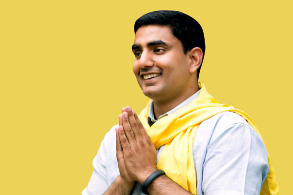It is official, TDP formally endorsed Lokesh as its MLC candidate!
