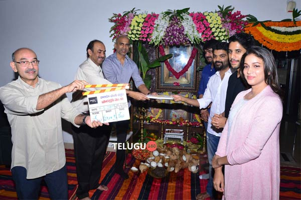 Naga Chaitanya's first film after his engagement, Naga Chaitanya's debutant Krishna Marimuthu movie, Varahi Chalana Chitram Naga Chaitanya's movie