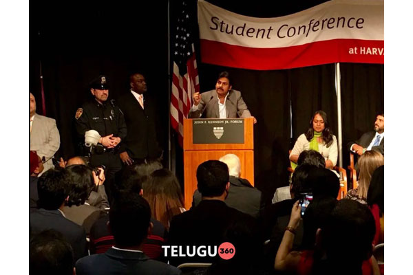 Pawan Kalyan at Harvard