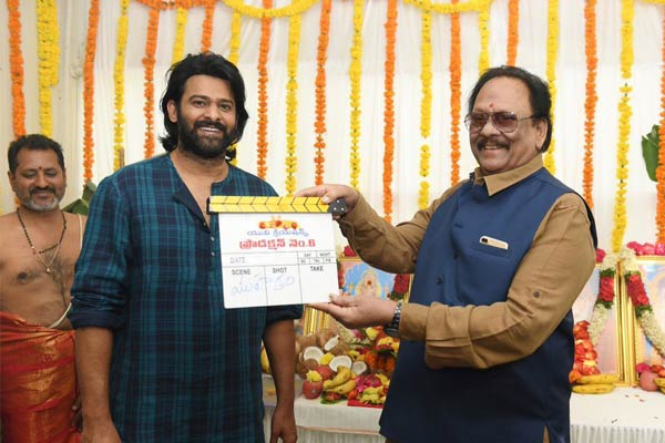 Prabhas - Sujeeth shooting Teaser first
