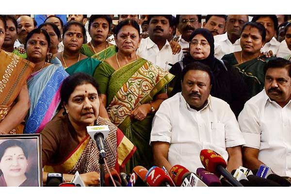 The future of V K Sasikala who was fighting a bitter power battle with interim Tamil Nadu Chief Minister O Panneerselvam (OPS) has been decided by the Supreme Court.