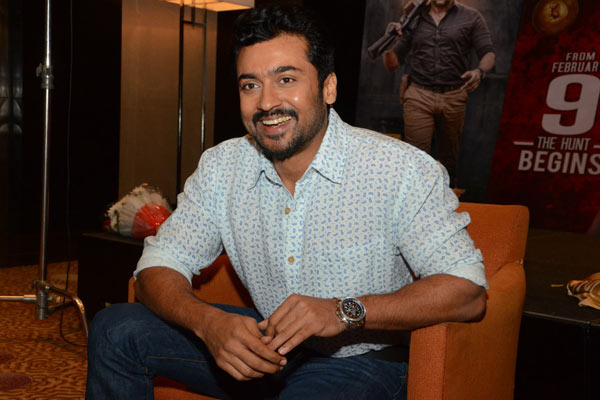 Surya Interview on the occasion of Singam 3 release