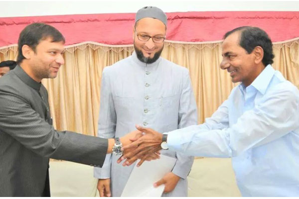 Cracks begins in TRS-AIMIM comradeship?